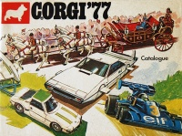 Corgi Toys 1977 French Edition
