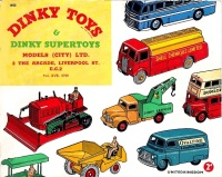 Dinky Toys & Dinky Supertoys 1955 UK Edition