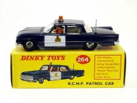 Ford Fairlane RCMP Patrol Car Image 1
