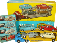 Carrimore Car Transporter with 4 Cars Image 1