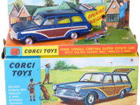 Ford Consul Cortina Super Estate Car & Golf Set Image 1