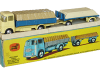 ERF Dropside Lorry and Platform Trailer Image 1