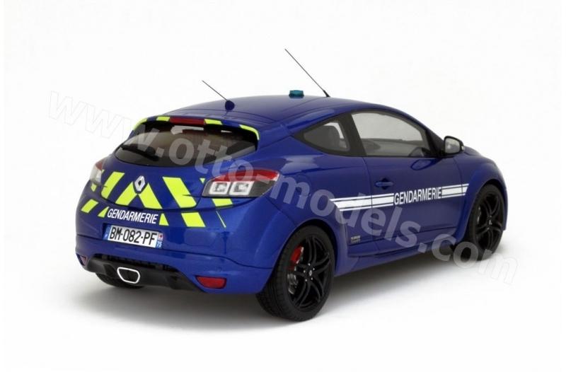 Voitures Renault Megane 3 Rs Gendarmerie