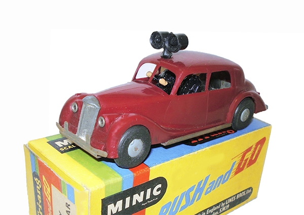 Voitures - Riley Police Car