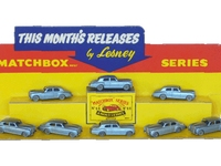 Lesney Matchbox Rolls Royce Silver Cloud Stand Image 1