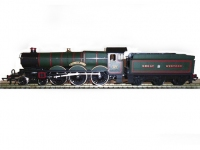 Castle Class GW Green 4-6-0 Locomotive 'Caerphilly Castle' Image 1